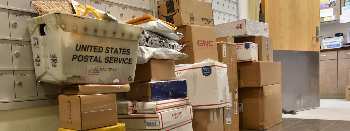 Image of a stack of packages