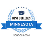 Best 4-Year Colleges in Minnesota award badge