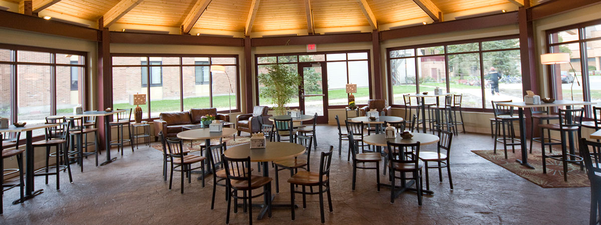 Evergreen Grill Seating Area