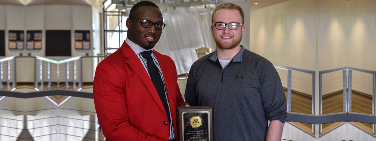 Jarvis Richardson, 2017 Outstanding Service to Students Award recipient