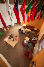 Sargeant Student Center's International Lounge