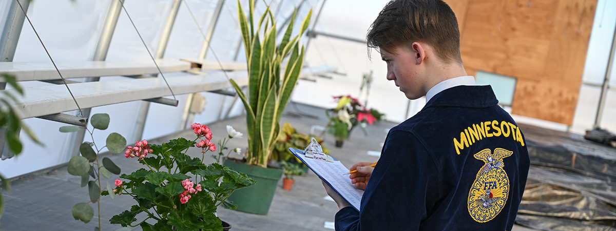Floriculture Contest at UMC's Agriculture and Natural Resources Activities Day