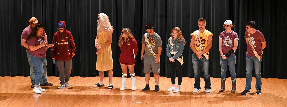 Homecoming Coronation Question and Answer Session