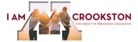 I am Crookston LinkedIn cover photo with friends
