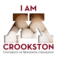 "I am Crookston, Volleyball edition for a Social Media ""Profile"" Image"