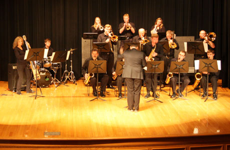 Jazz Band play for MLK Day
